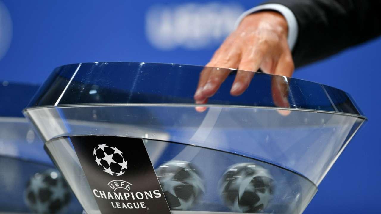 UEFA Champions League draw - pots - balls