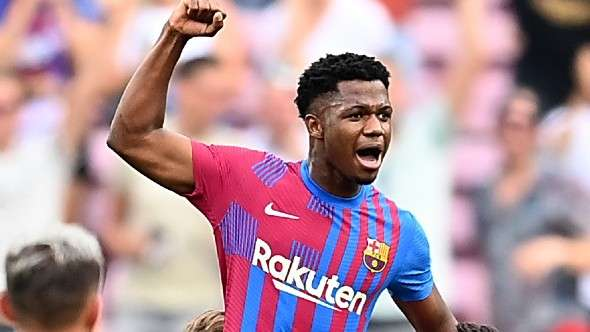 Ansu Fati - FC Barcelona - September 26, 2021
