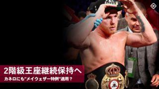 ボクシング, カネロ・アルバレス, WBA, 階級違い王座継続保持容認