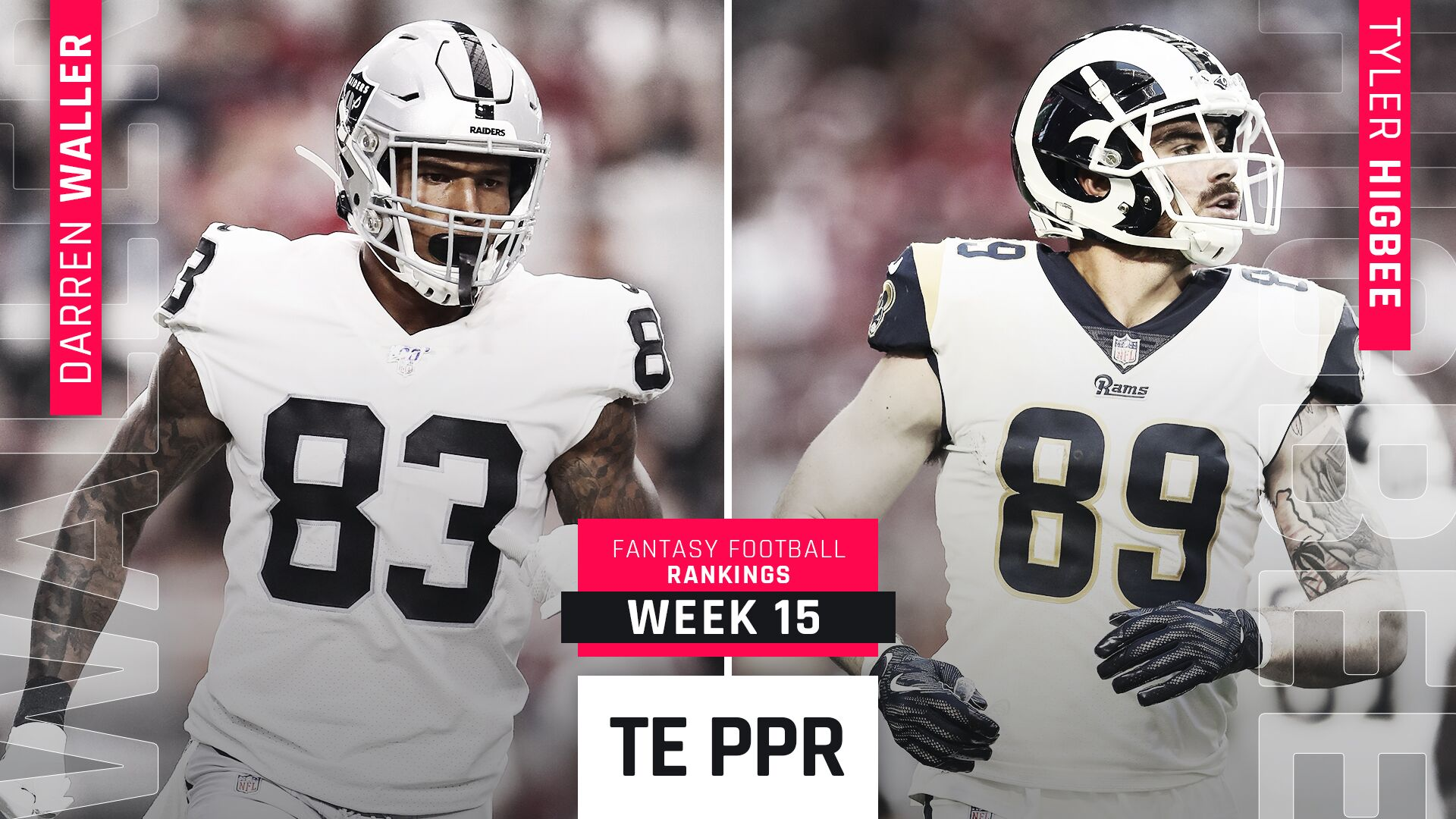 Week 15 Fantasy PPR Rankings: Tight end