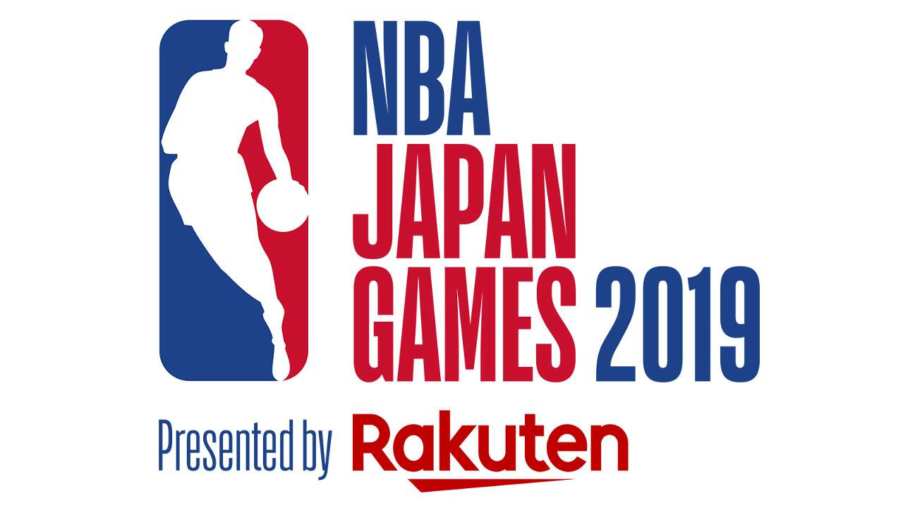 NBA Japan Games 2019 Presented by Rakuten logo Toronto Raptors vs Houston Rockets