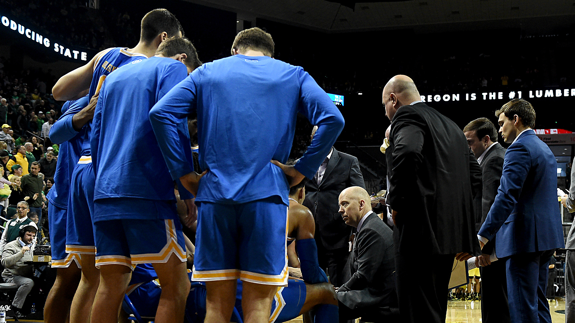 """UCLA's Mick Cronin has been """"rescued"""" when he won the Sweet 16 after failing against Alabama"""