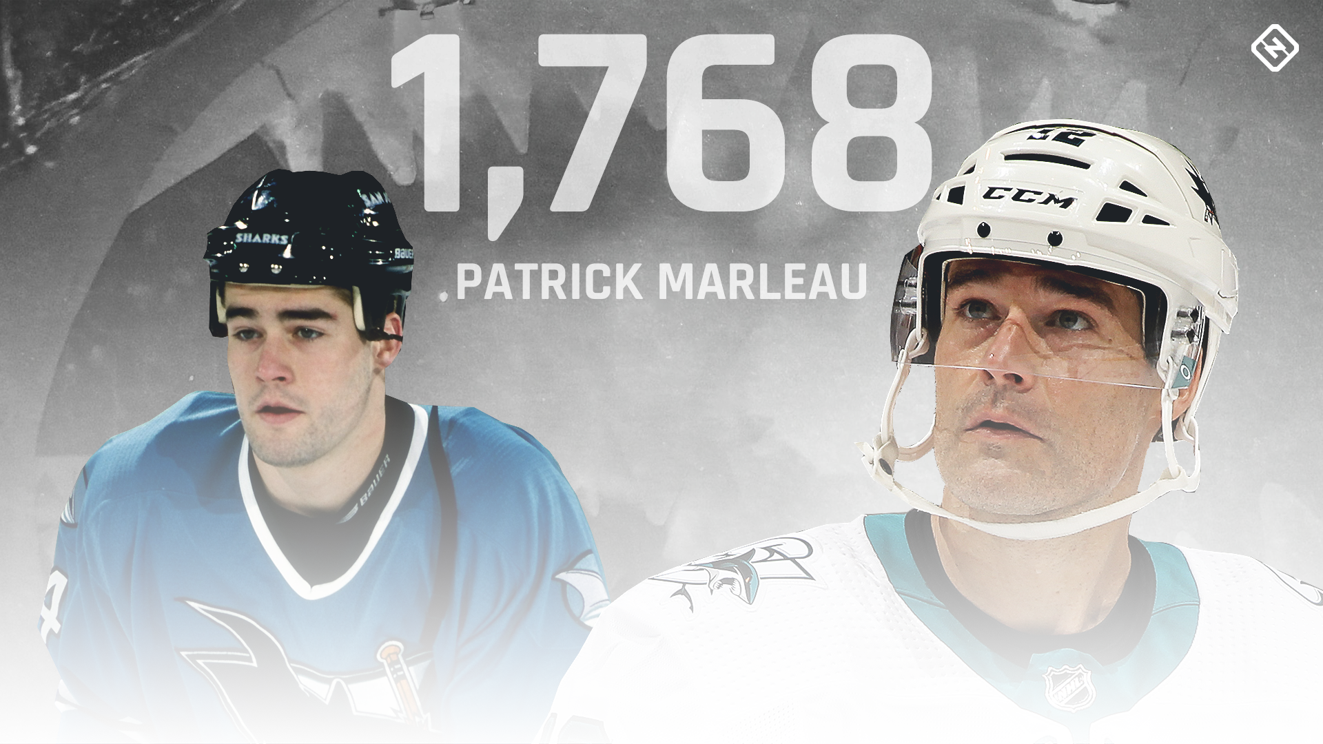 """Former teammate Patrick Marleau reflects on the beginnings when Gordie Hoe's record falls: """"I think it's still underestimated."""""""