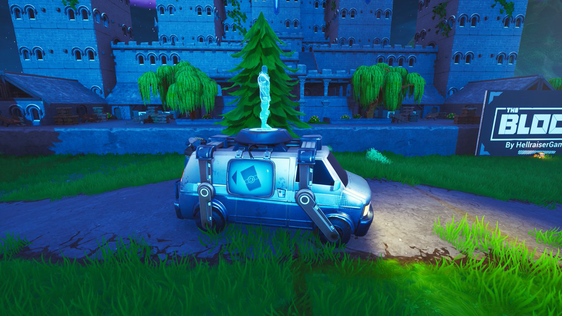 Next Beacon Fortnite Is Fortnite Stealing Respawn Beacons From Apex Legends With Mysterious Vans Sporting News
