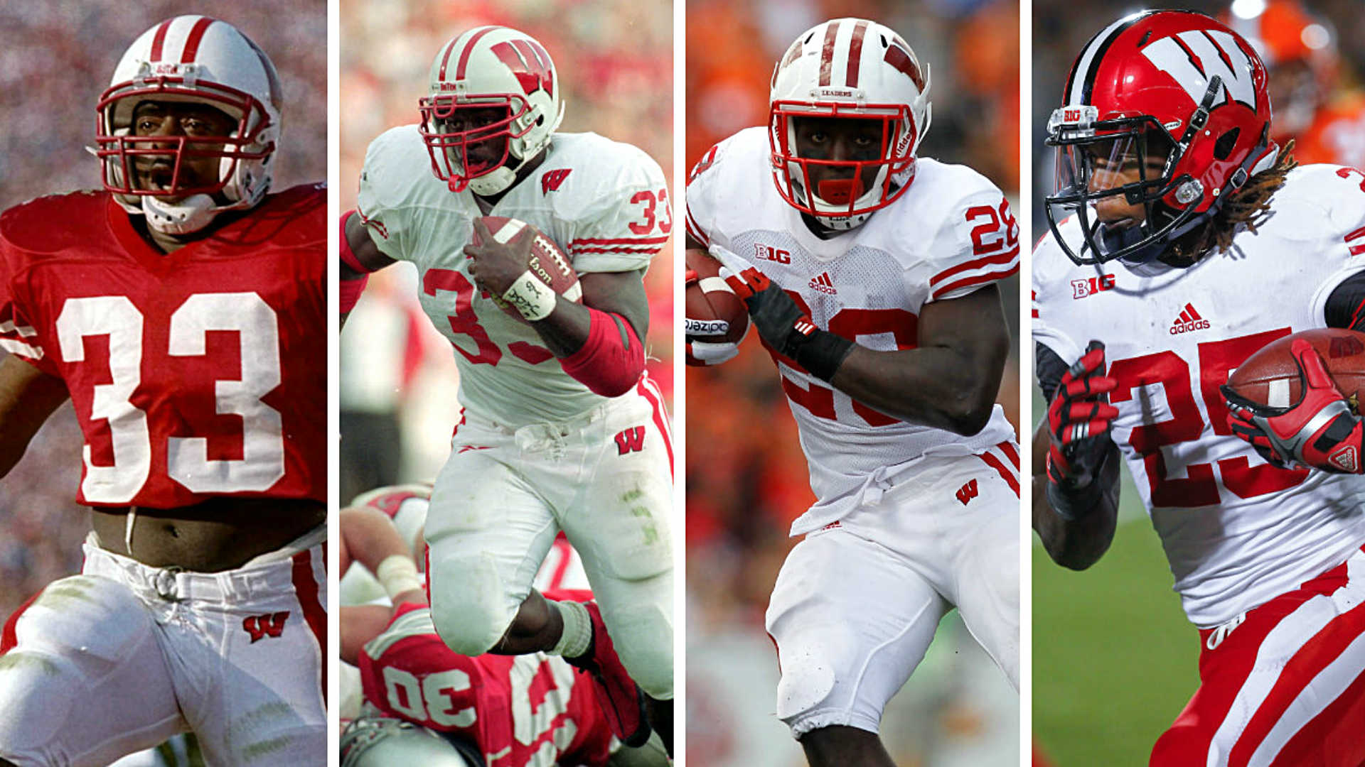 Wisconsin Badgers RB tradition: From Moss to Taylor | Sporting News