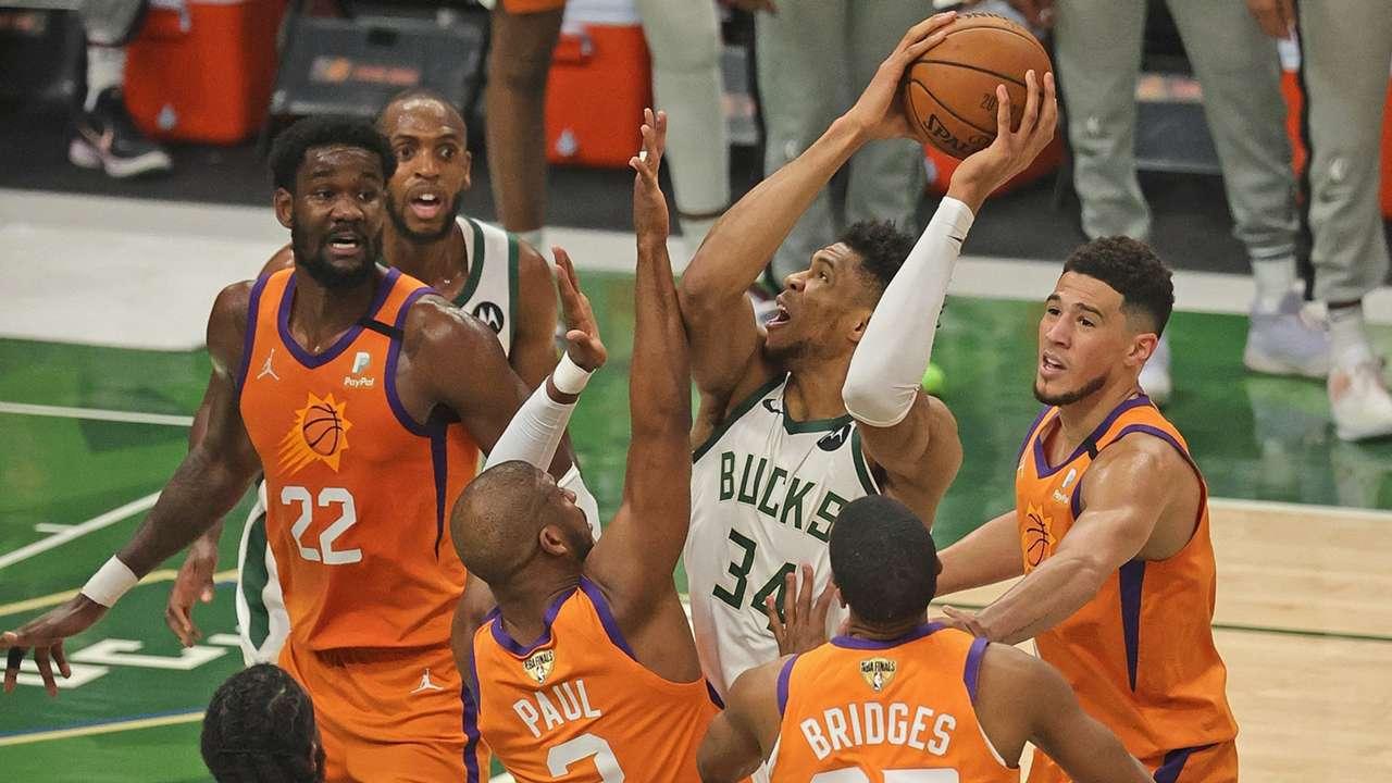 NBAファイナル ミルウォーキー・バックス対フェニックス・サンズ
