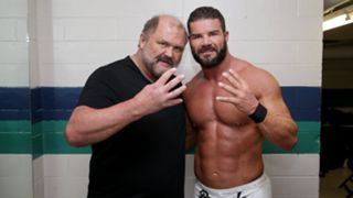 WWE Hall of Famer Arn Anderson and Bobby Roode.