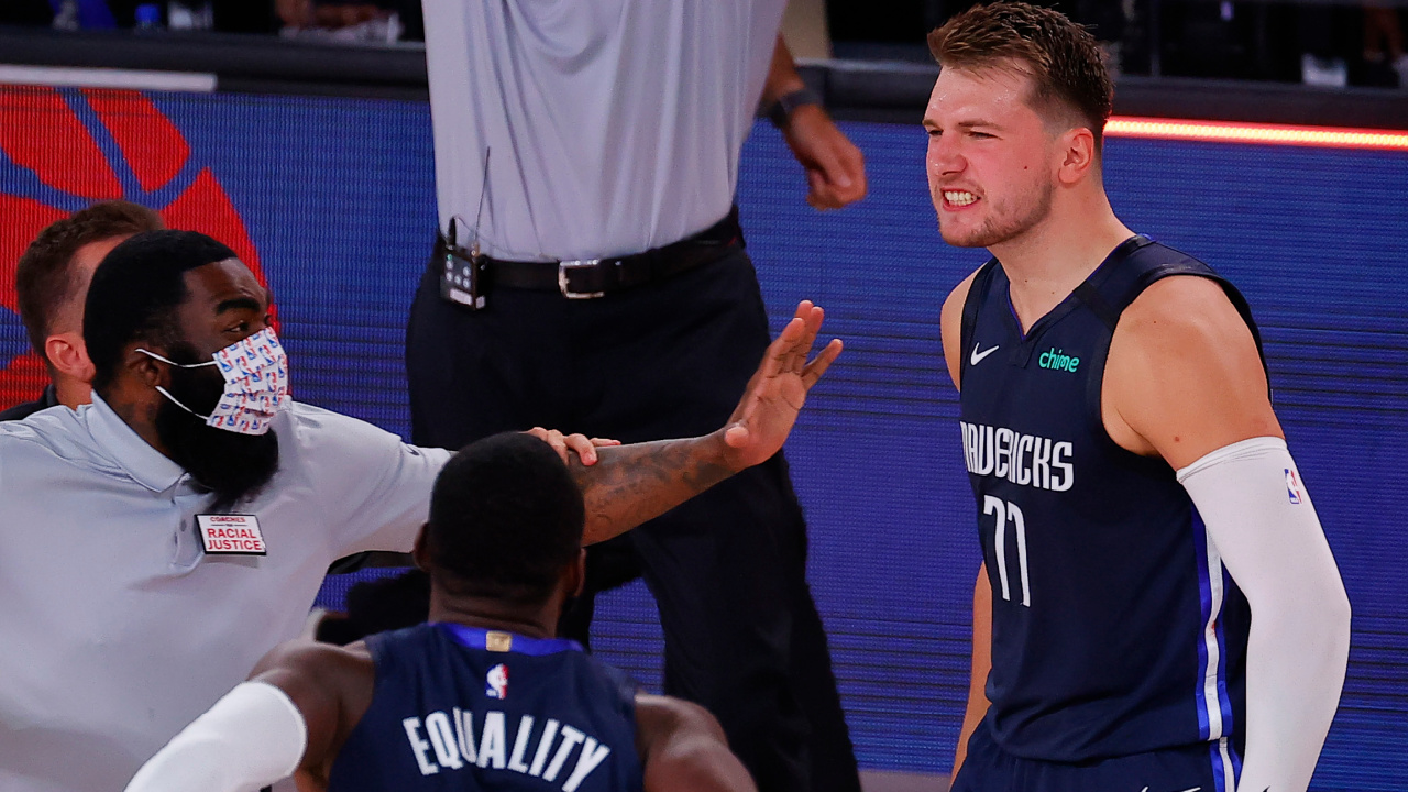 What Luka Doncic S Game Winning Buzzer Beater Sounded Like Inside The Nba Bubble Sporting News