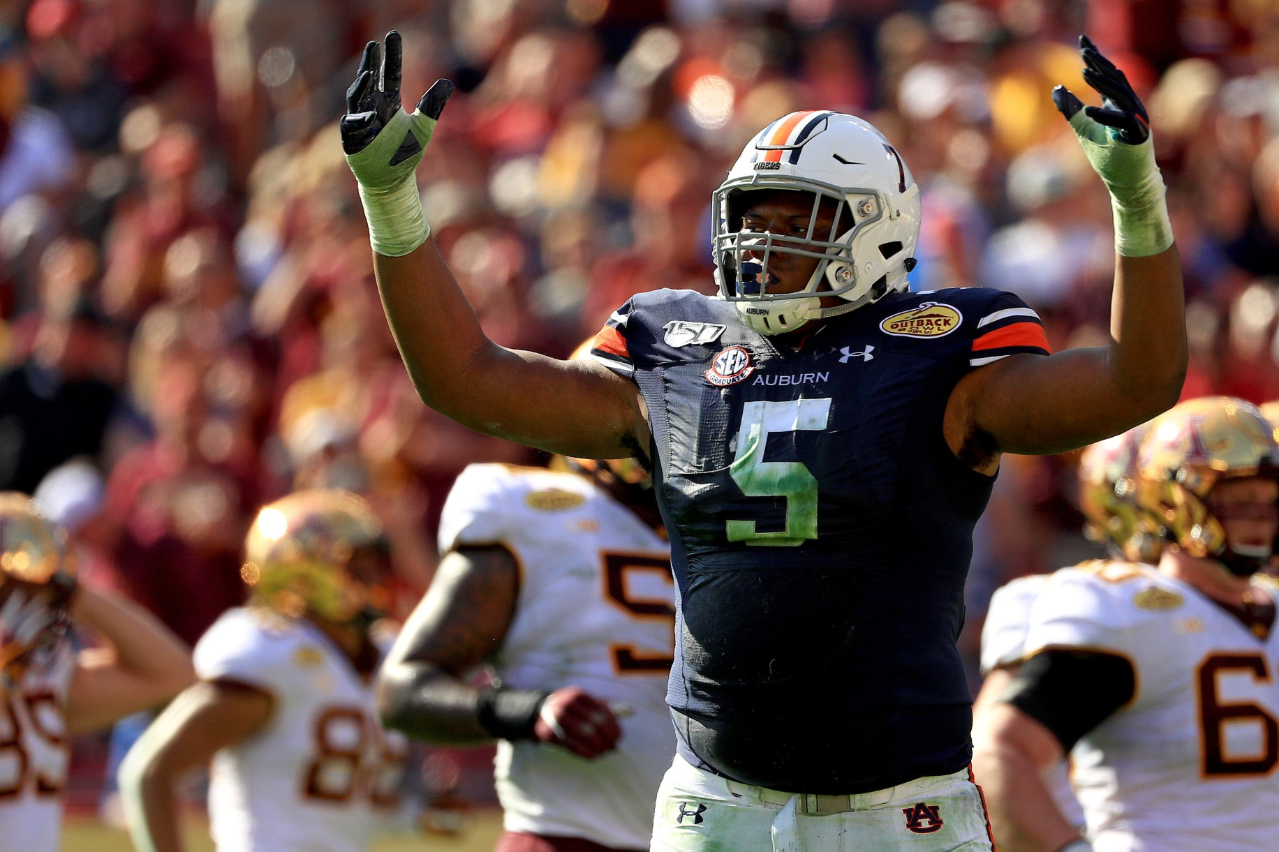 2020 NFL Draft: Auburn's Derrick Brown proves structure, senior year can still pay off 1