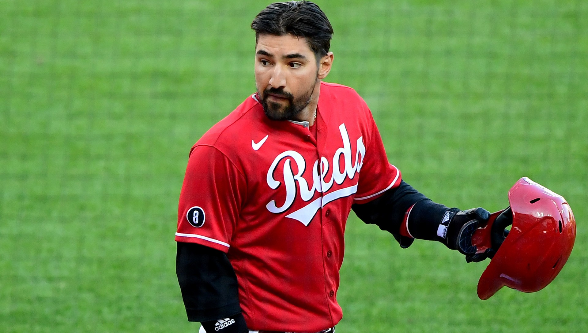 Why did they interrupt Nicholas Castellanos?  Reds outside player fracas vs.