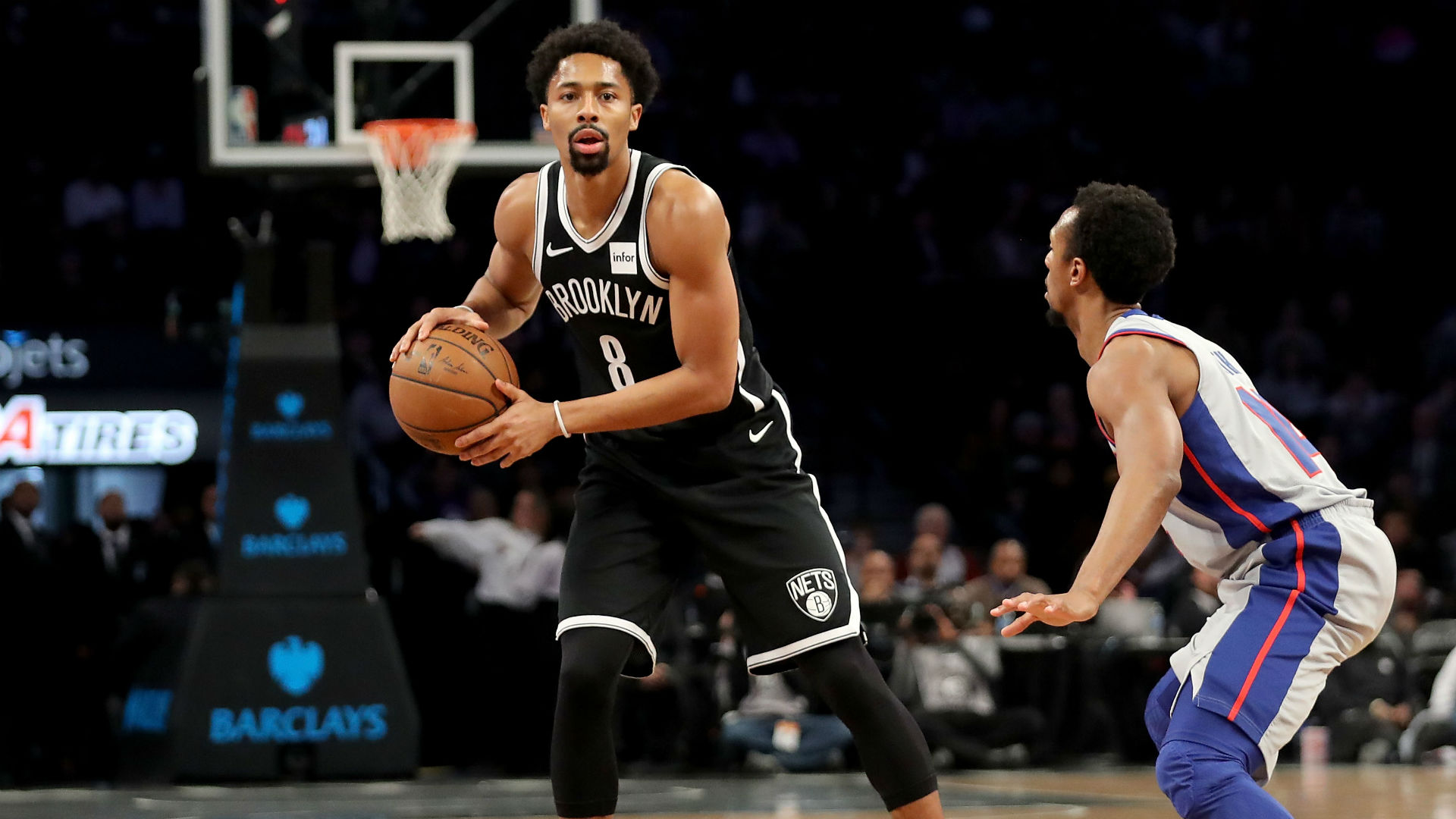 Nets' Spencer Dinwiddie again merges cryptocurrency with his NBA future