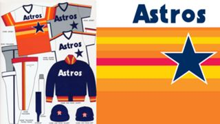 1983 Astros uniforms