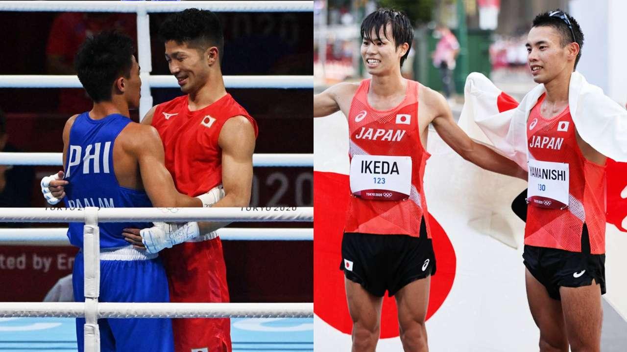 東京五輪8月5日、銅メダルの田中亮明、競歩20km銀の池田尚希、銅の山西利和