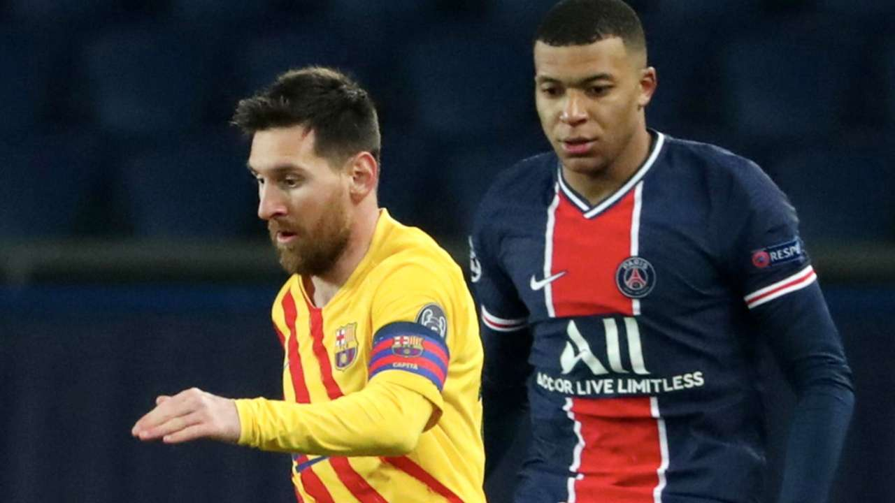 Lionel Messi - Kylian Mbappe - PSG