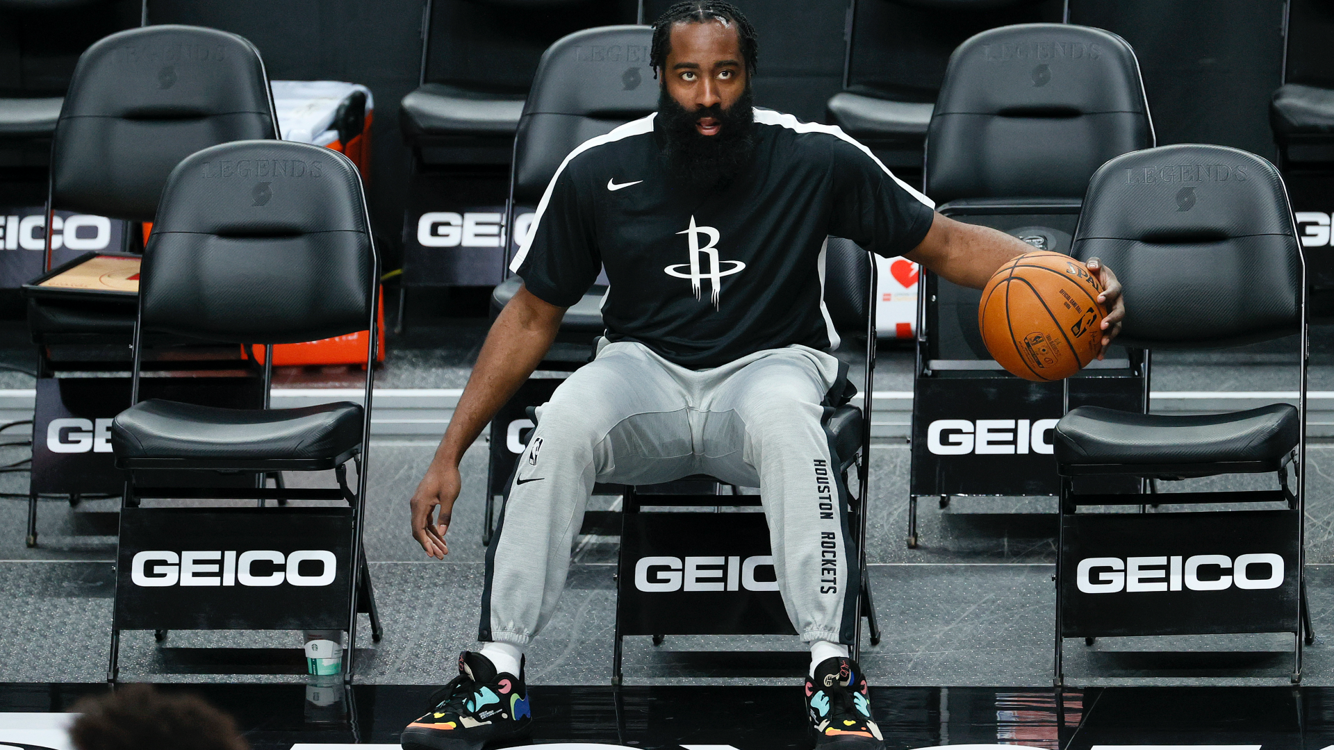 NBA fans react to James Harden's postgame Rockets bombshell: 'It sounded like a farewell'