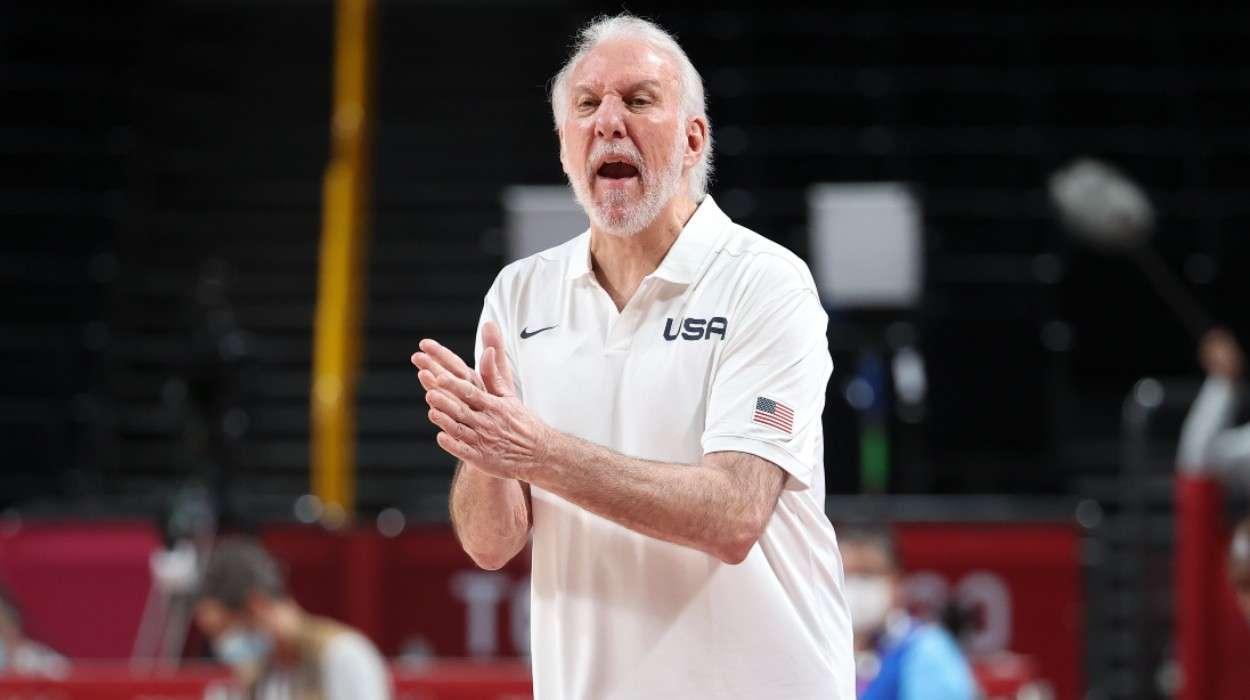 Coach of USA Gregg Popovich