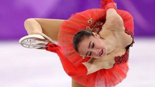 Alina Zagitova of Olympic Athlete from Russia