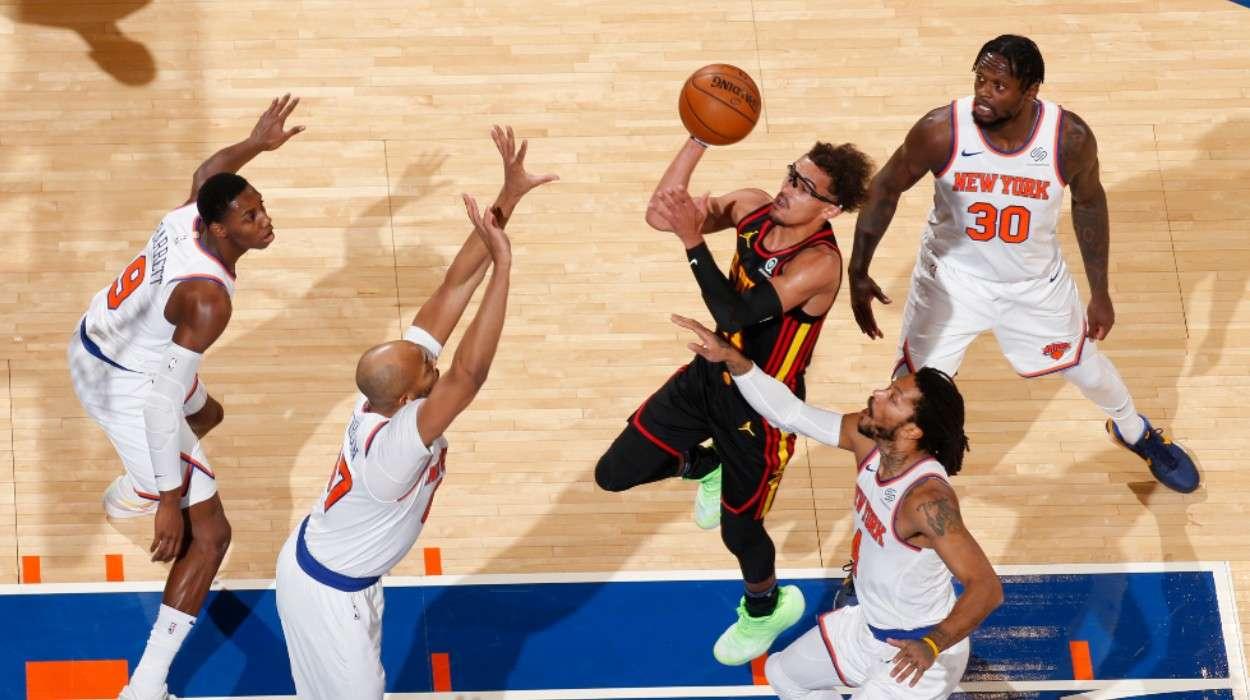 Trae Young Atlanta Hawks New York Knicks