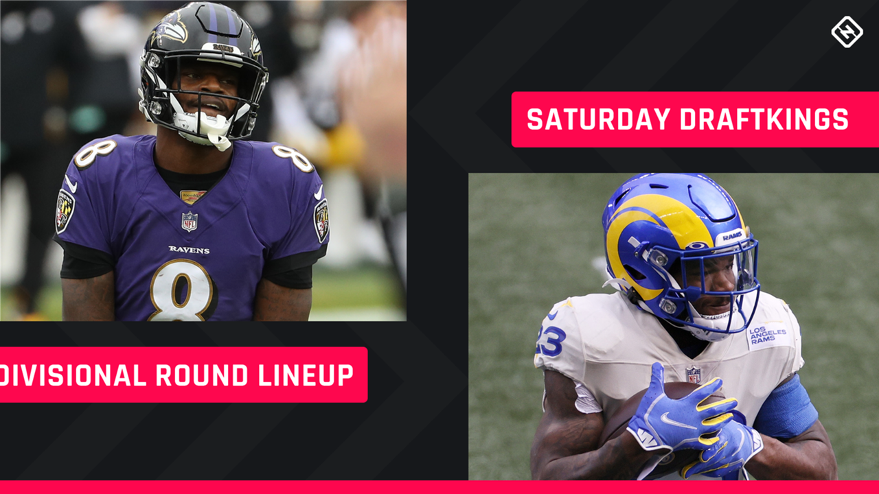 Divisional-Round-Saturday-DraftKings-Lineup-FTR
