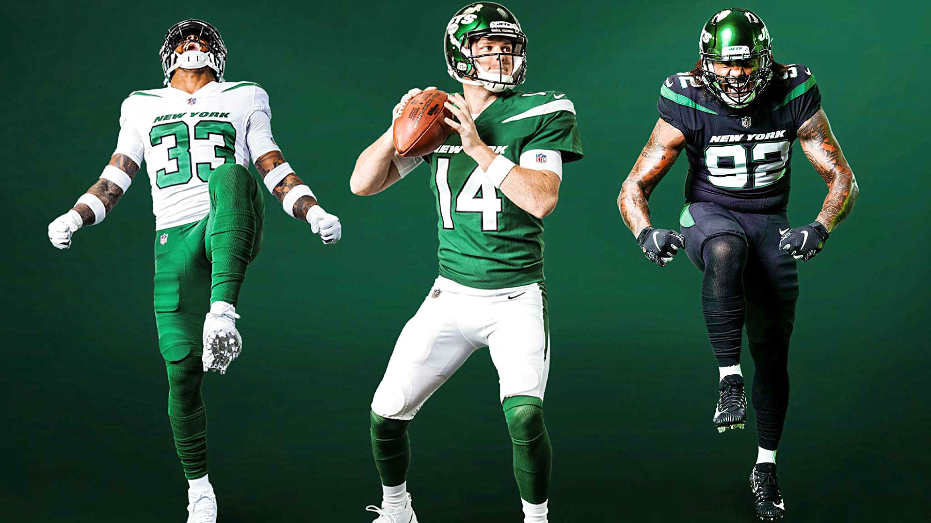 New York Jets Unveil New Uniforms And Twitter Is Split Sporting News