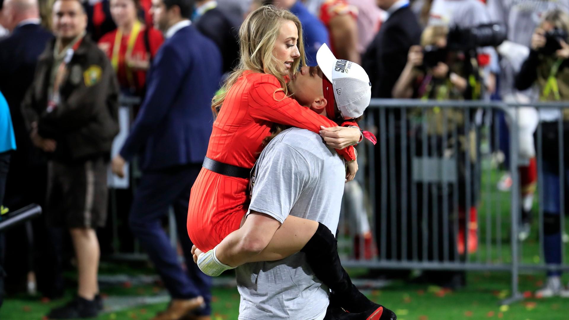 Chiefs star Patrick Mahomes, fiancee Brittany Matthews ...