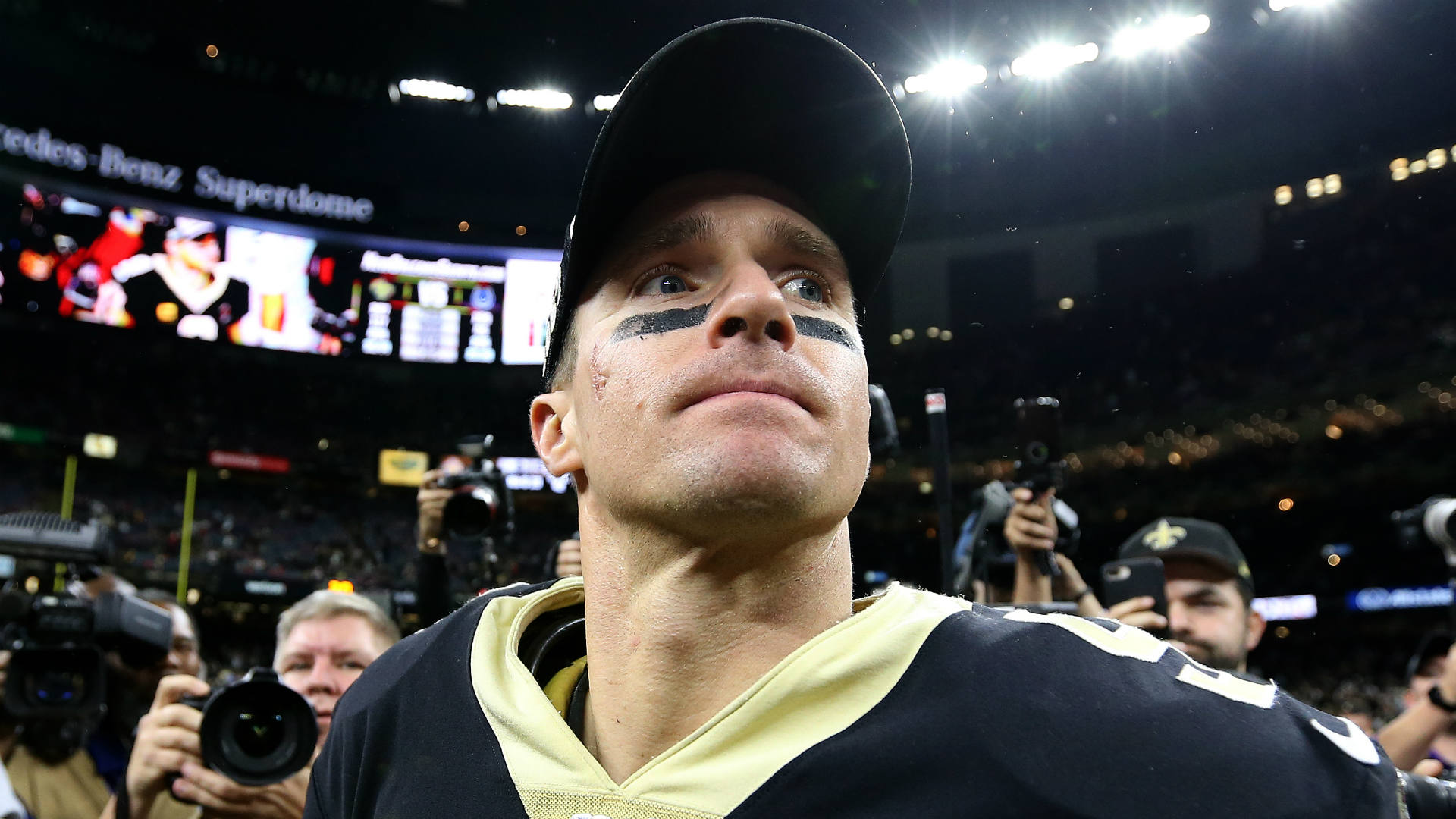 Drew Brees still doesn't understand the point of protesting during the national anthem