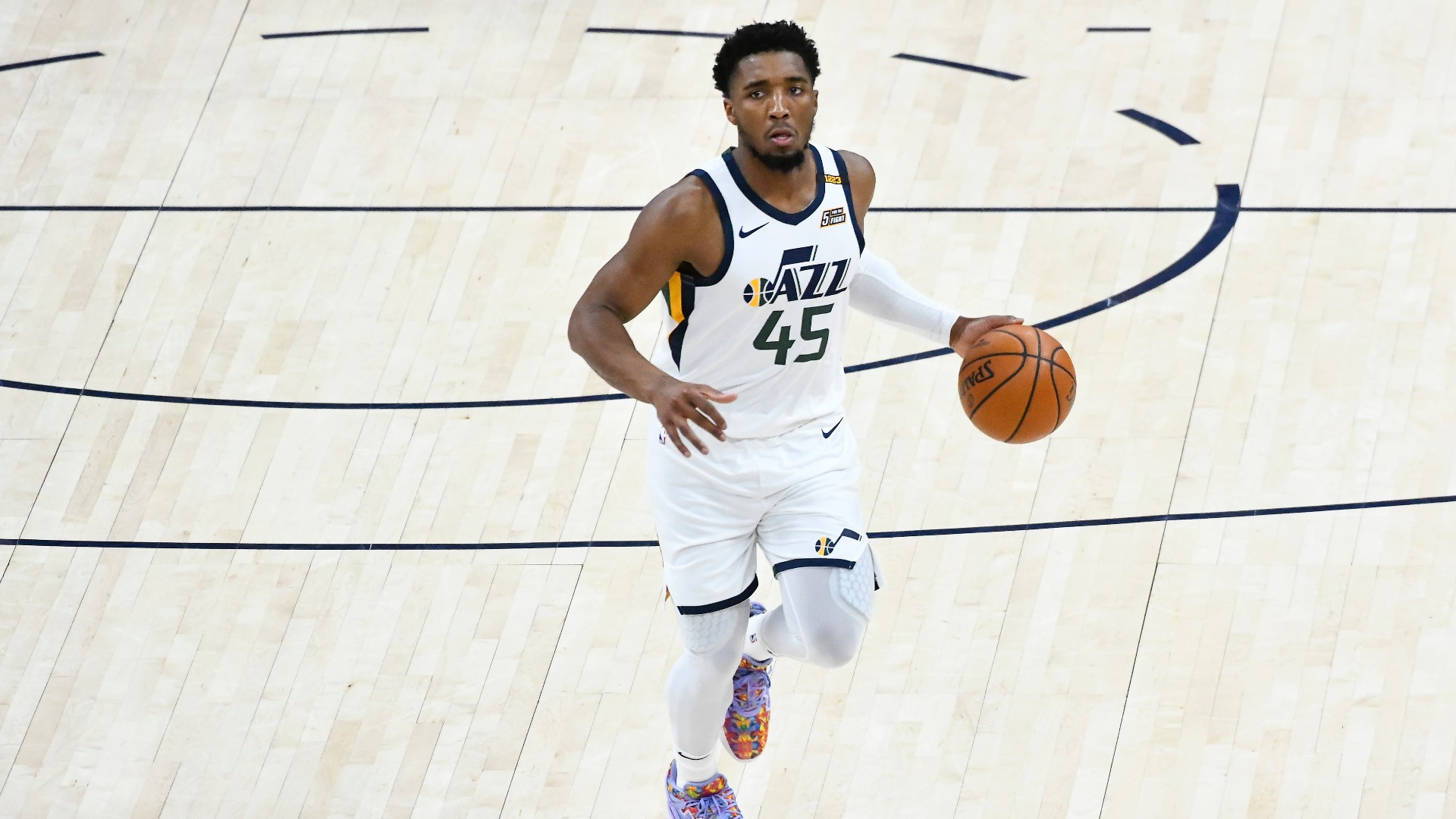 Donovan Mitchell Injury Update: Jazz star game with right ankle sprain and Pacers