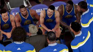 NBA 2K16 Golden State Warriors Kevin Durant