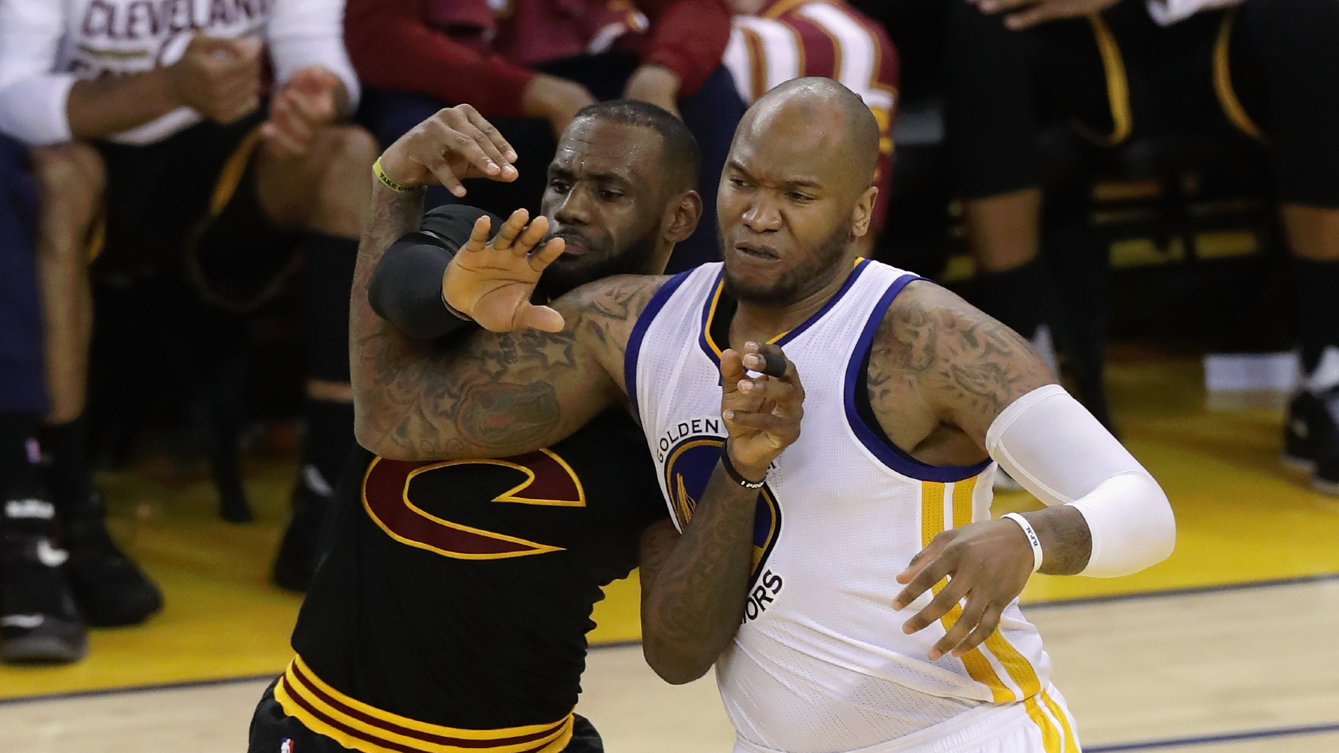 Mo Speights subtweets LeBron James after NBA Finals win, then turns account private