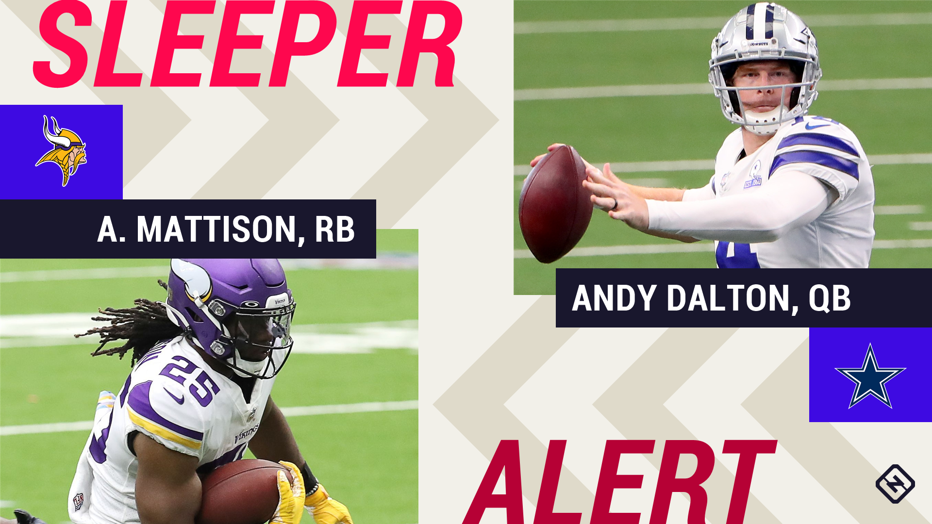 Week 6 Fantasy Sleepers: Alexander Mattison, Andy Dalton among those with strong fantasy outlooks this weekend