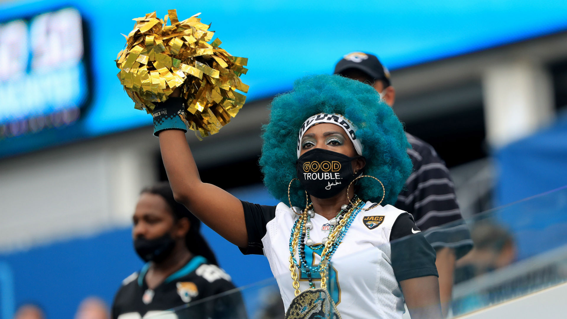 Jaguars fans cheer after Bears score touchdown to help Trevor Lawrence tank