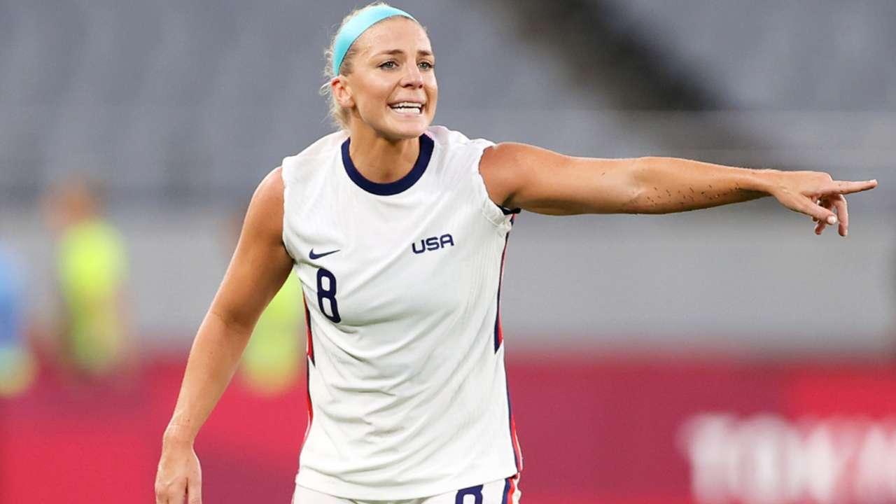Julie Ertz - USWNT - July 2021 - Olympics