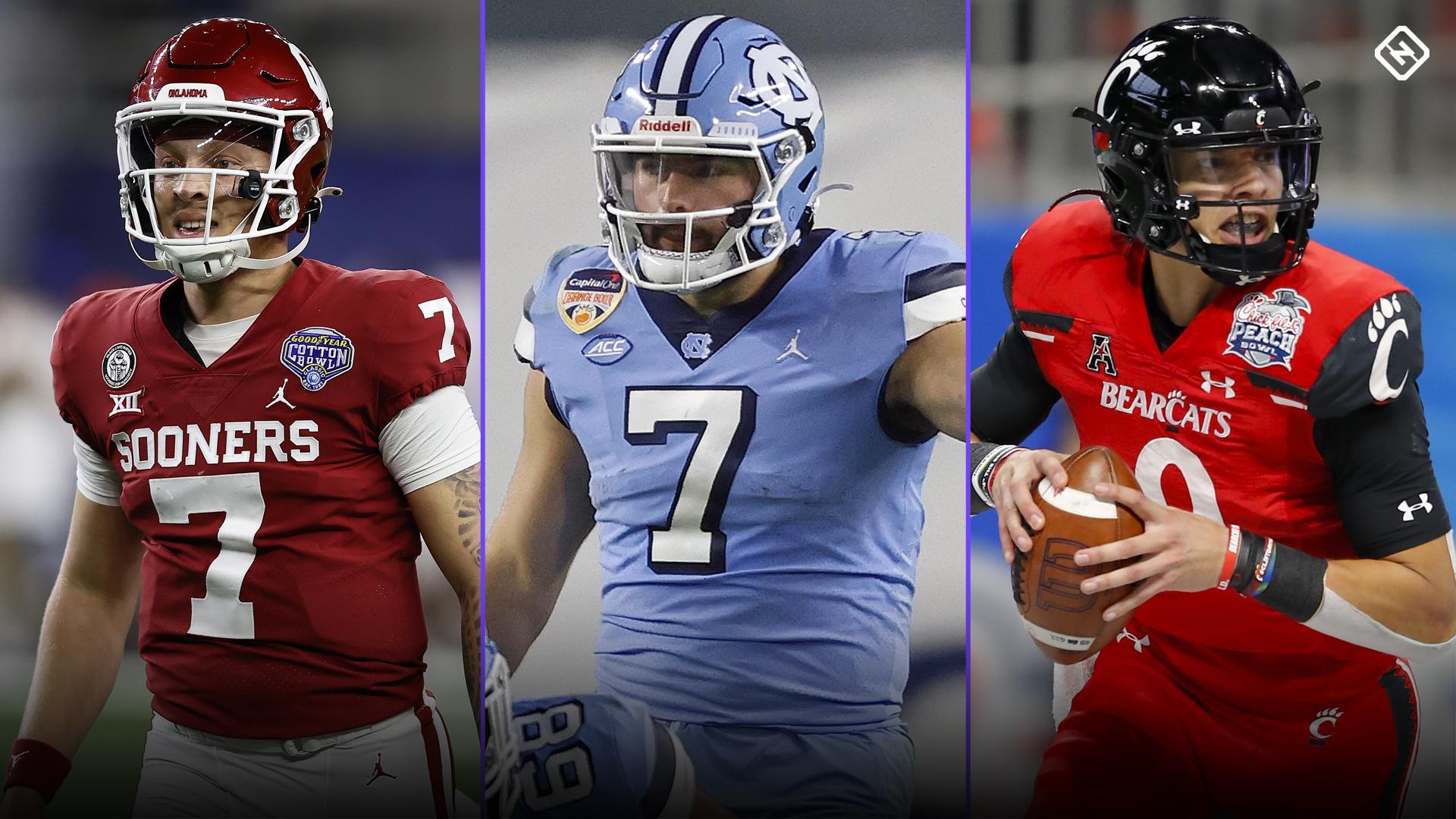 NFL Draft quarterbacks 2022: Sam Howell, Spencer Rattler lead early top 10 rankings
