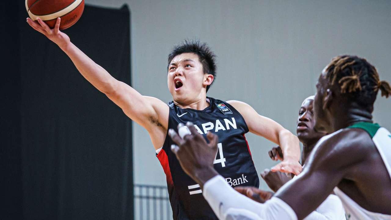FIBA U19ワールドカップ2021 岩下准平(日本代表)