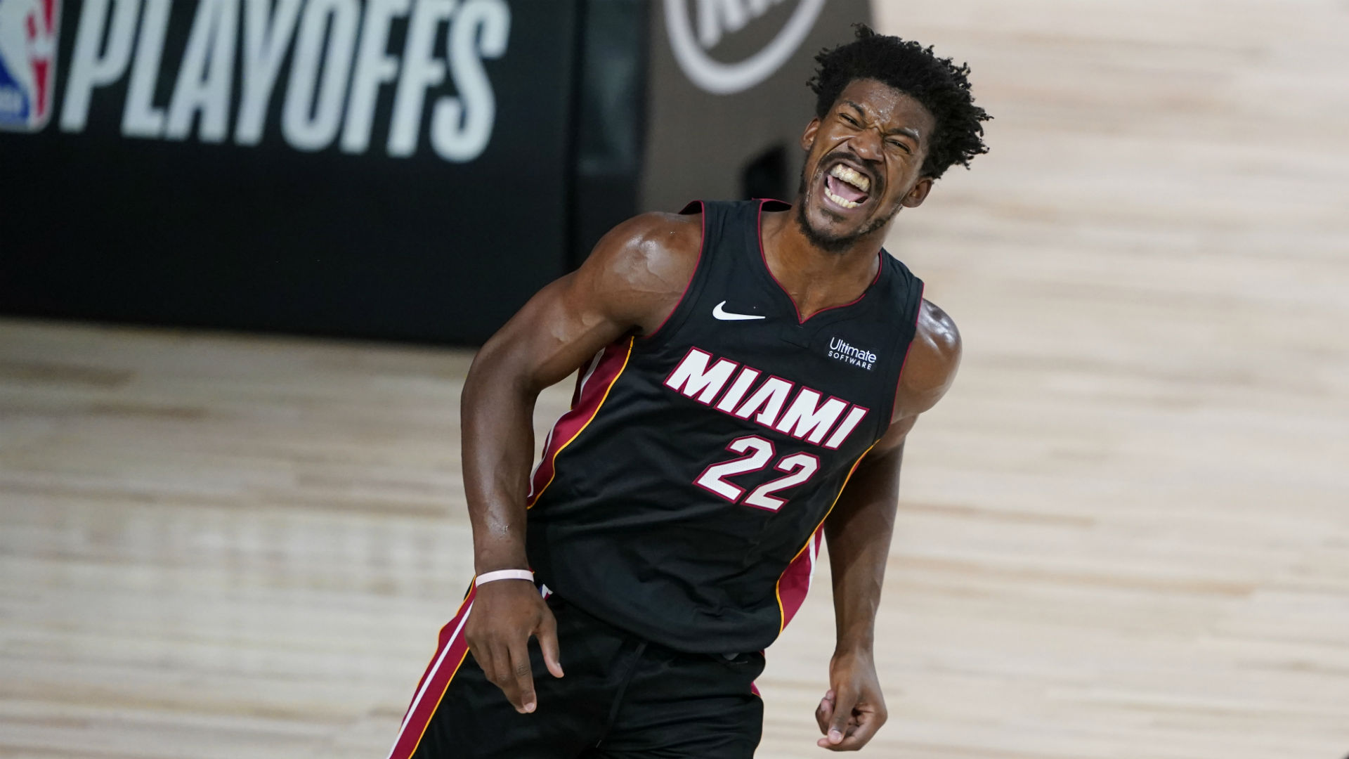 Heat's Jimmy Butler mocks 'sorry' reporter for asking about schedule