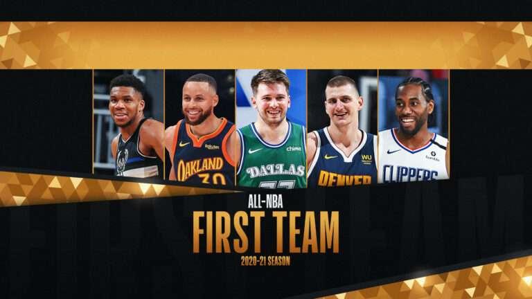 2020-21 All NBA First Team