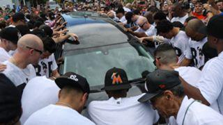 Jose Fernandez memorial service photos