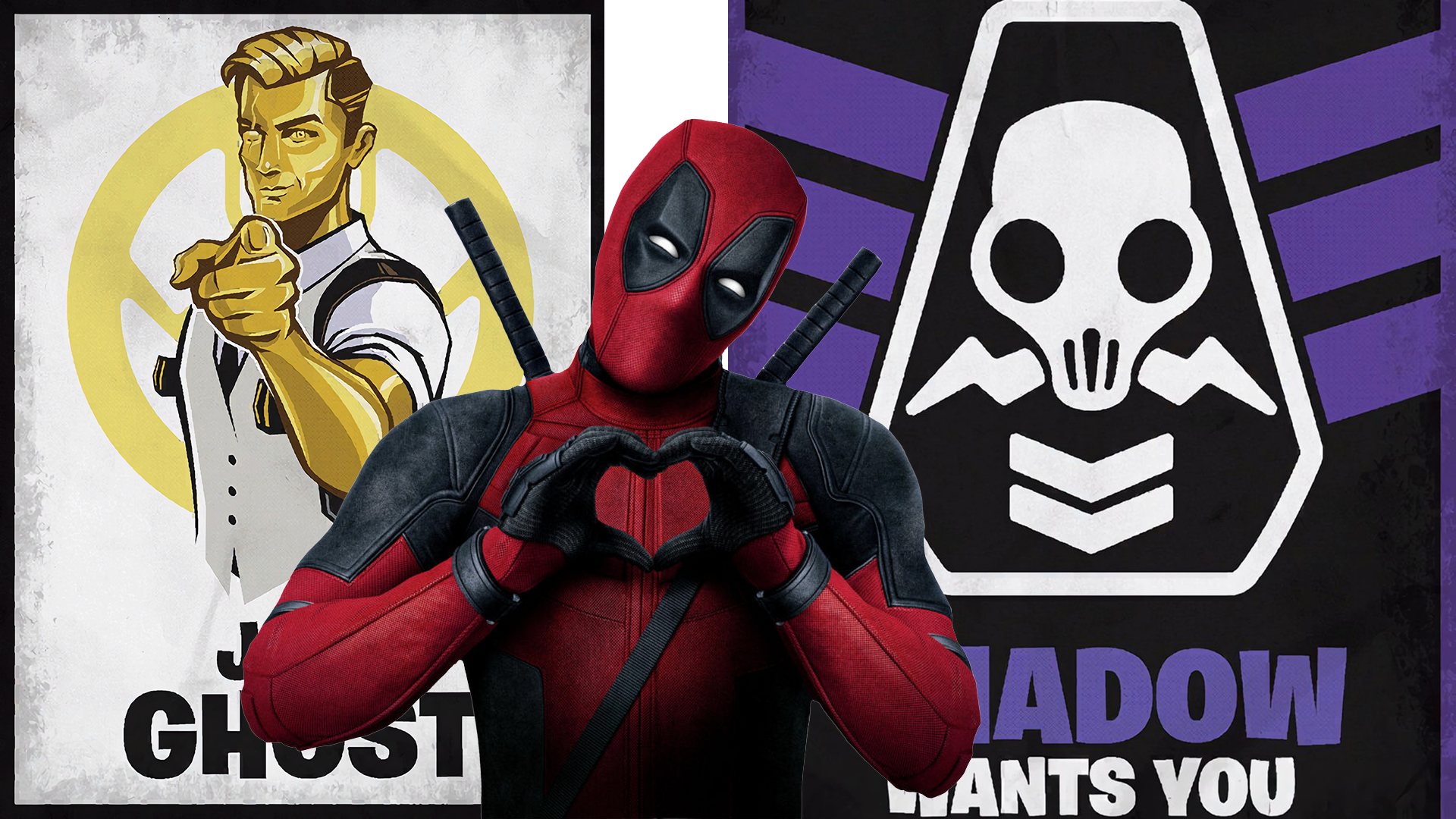 Desafíos de Fortnite Deadpool: dónde desfigurar los carteles y encontrar un gran marcador negro 75