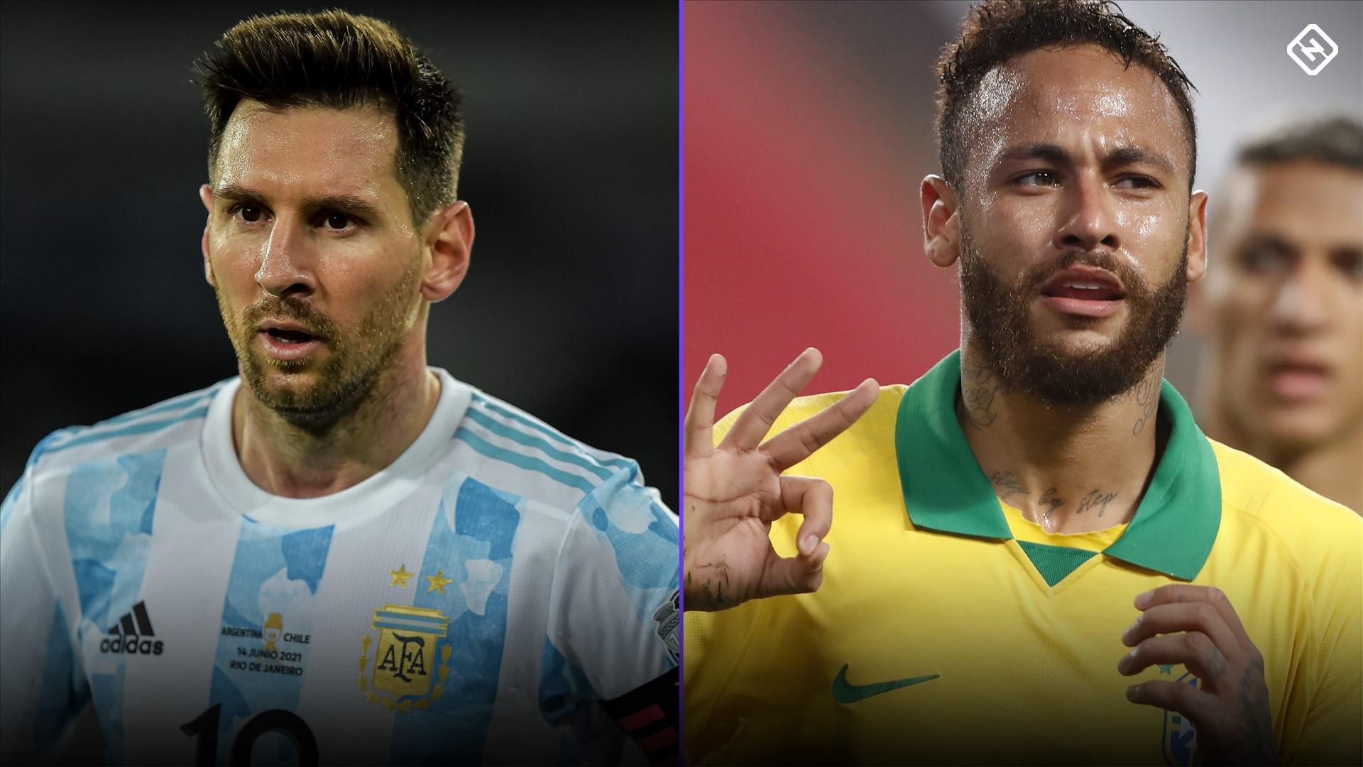 Brazil vs. Argentina: Time, lineups, TV, streams, odds, prediction for Copa America final