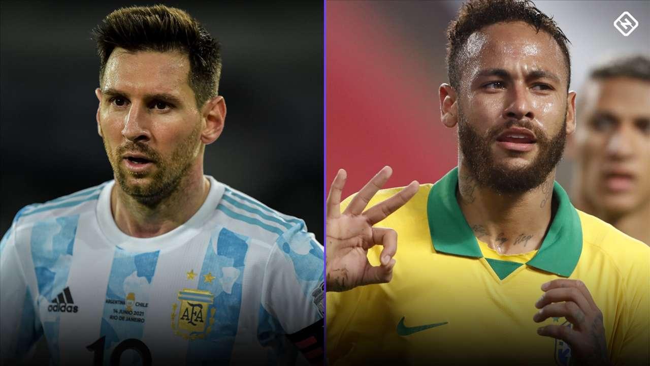 Neymar - Messi - Copa America 2021