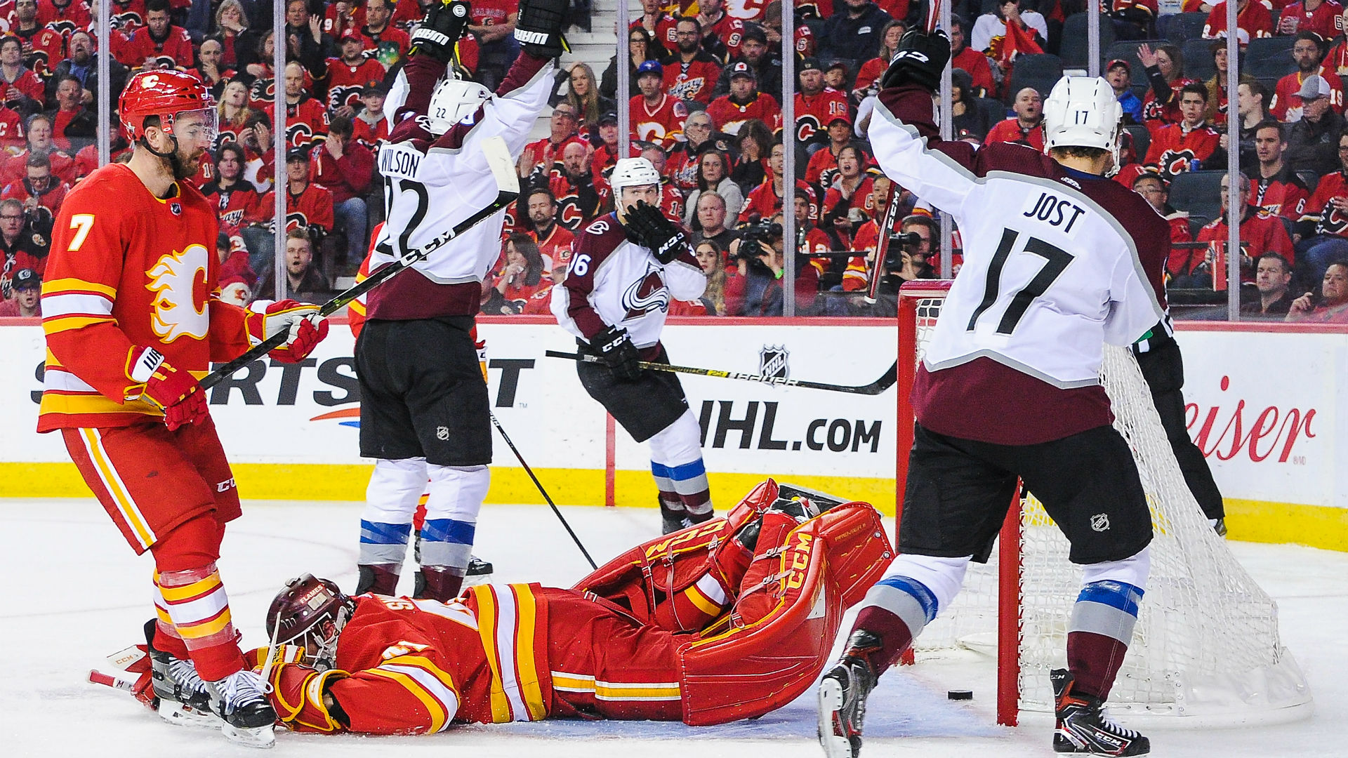 NHL playoffs 2019: Avalanche extinguish Western Conference ...