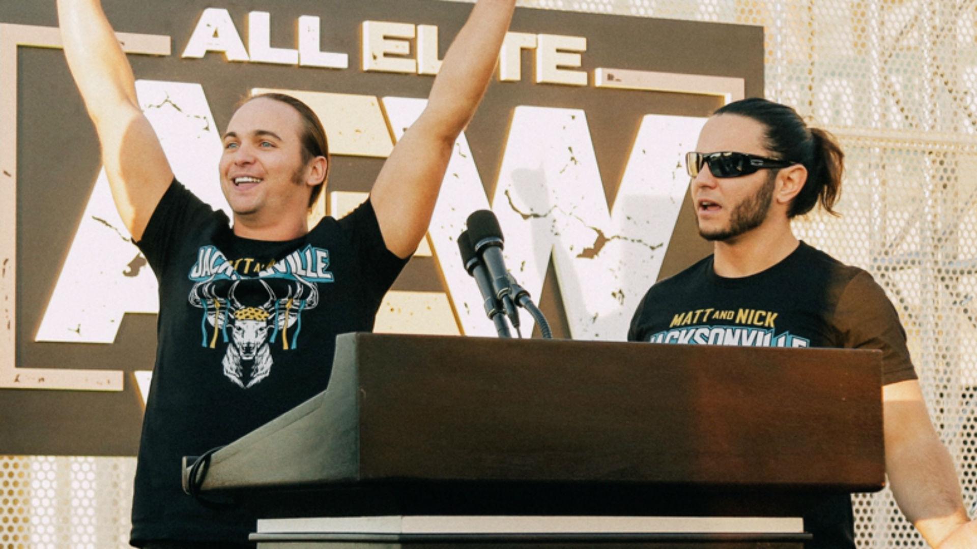 Los Young Bucks hablan sobre la controvertida decisión de abandonar Twitter, el éxito temprano de All Elite Wrestling 5
