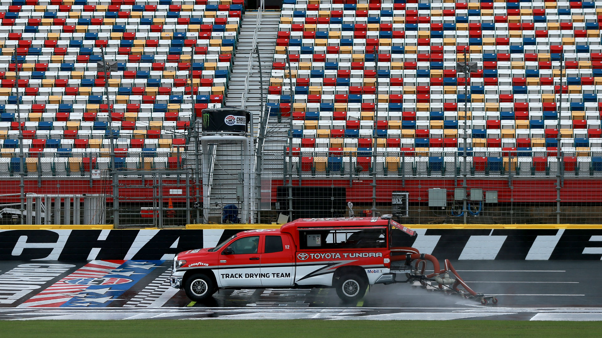 NASCAR race weather: How long will rain in Charlotte forecast delay Wednesday's Cup race?
