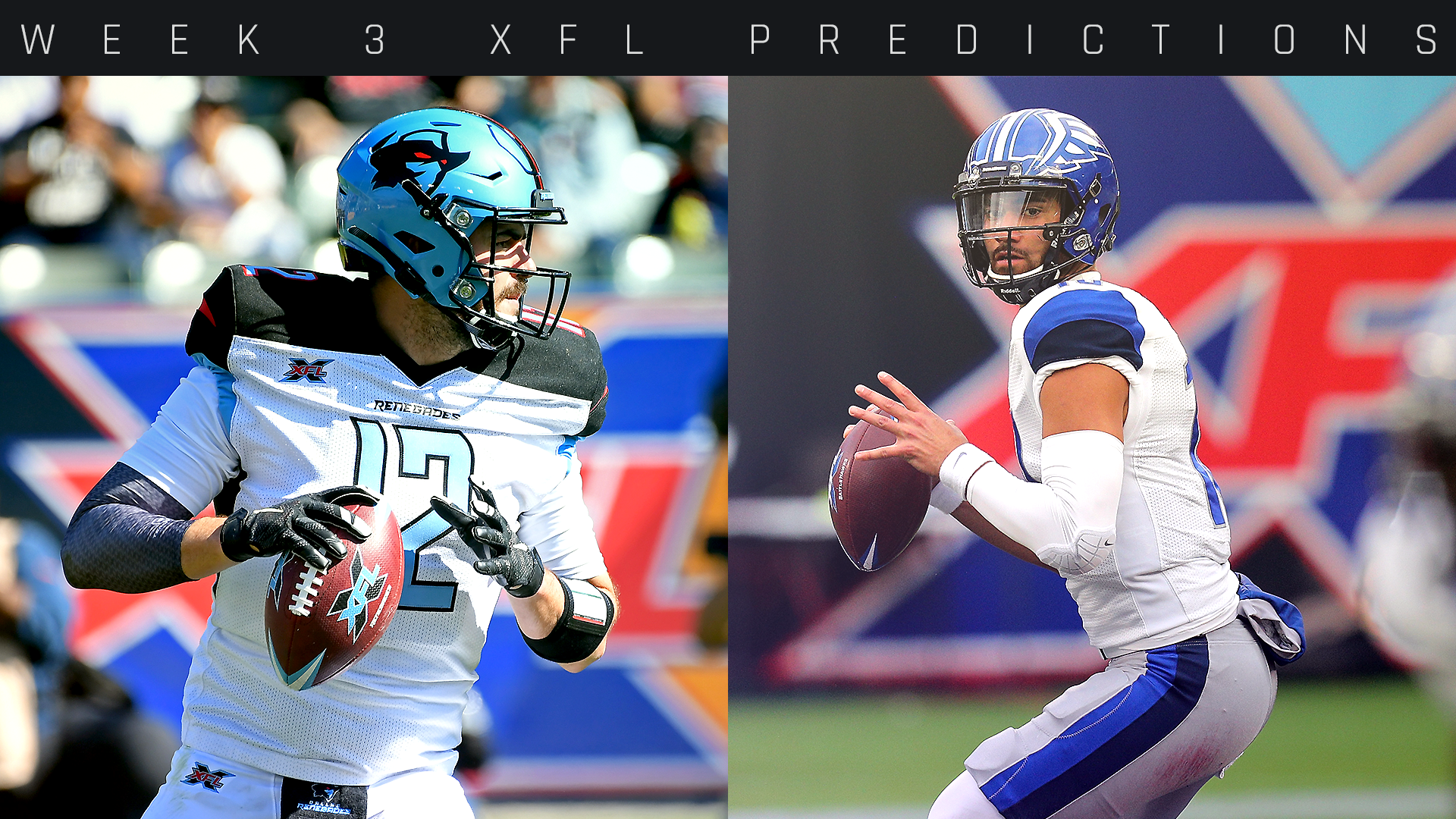 XFL Week 3 odds, picks, predictions: Houston Roughnecks, DC Defenders continue domination