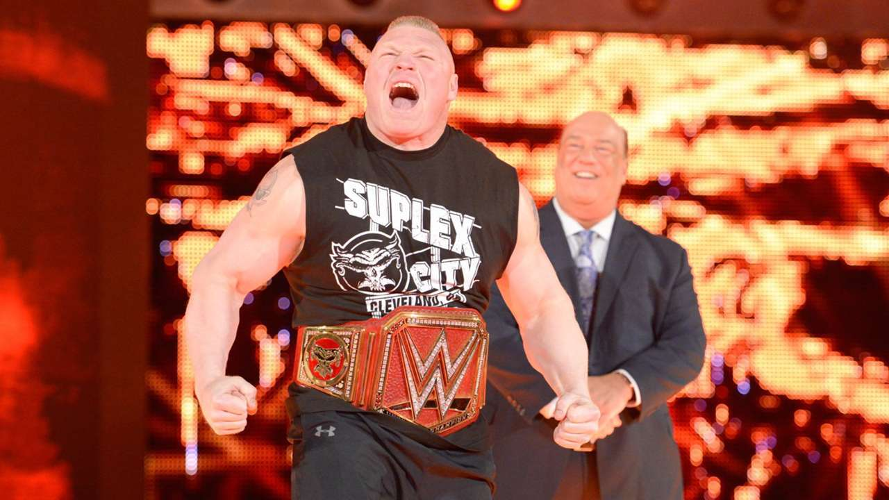 Two weeks before WrestleMania, Universal Champion Brock Lesnar and Paul Heyman kick off Monday Night Raw.