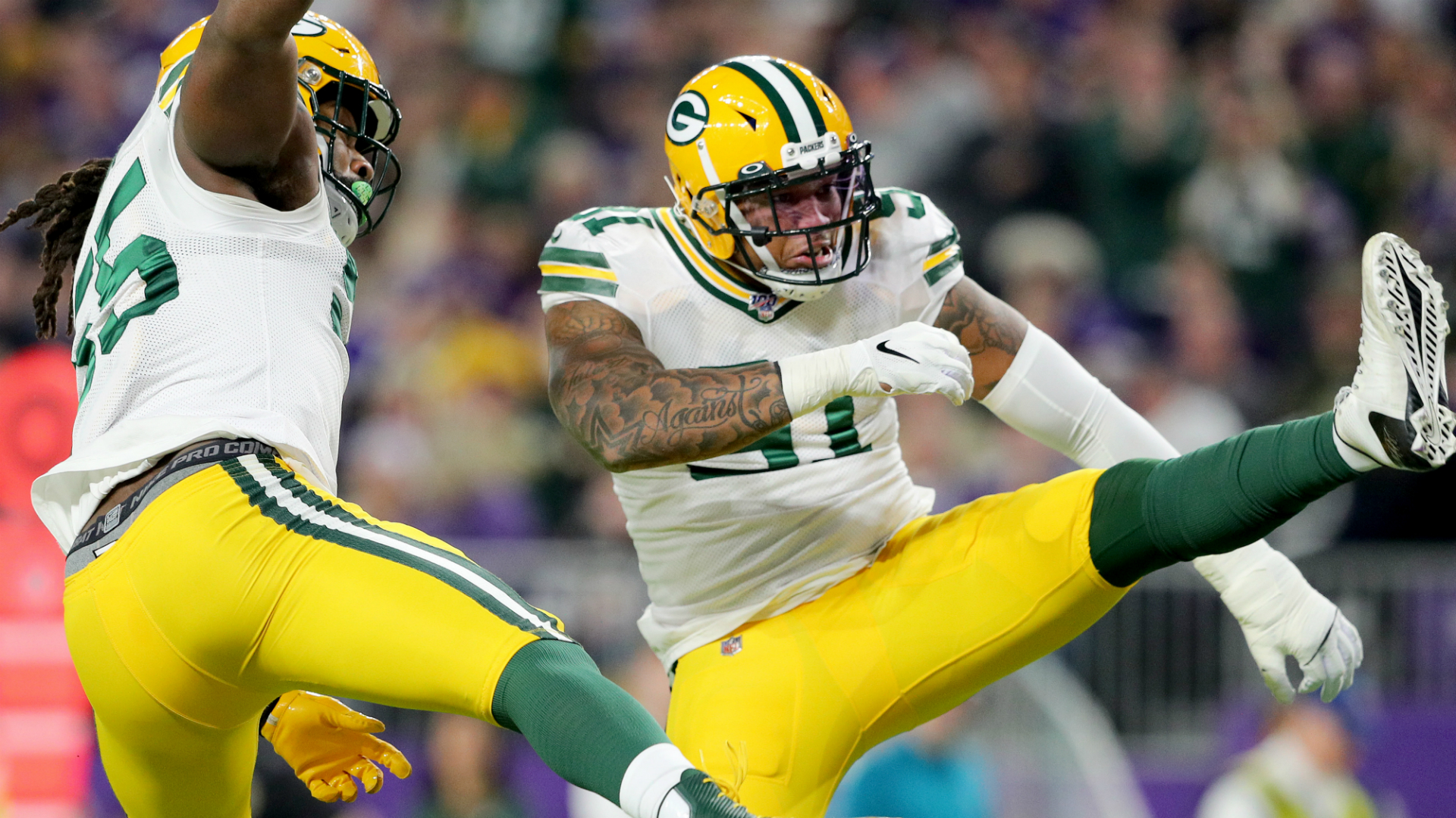 Packers Vs Vikings Final Score Green Bay Clinches Nfc North With Monday Night Win Sporting News