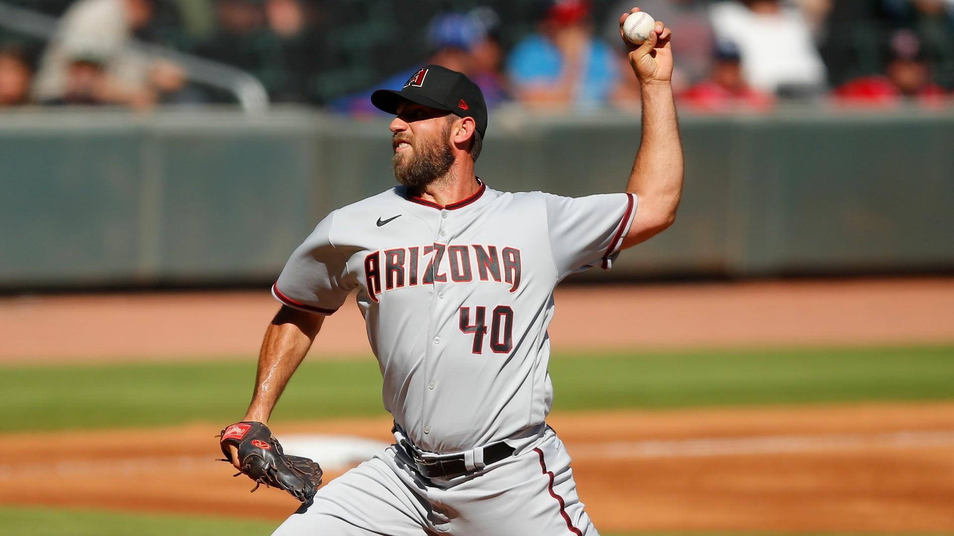 Diamondbacks' Madison Bumgarner no-hits Braves, but doesn't get credit for it