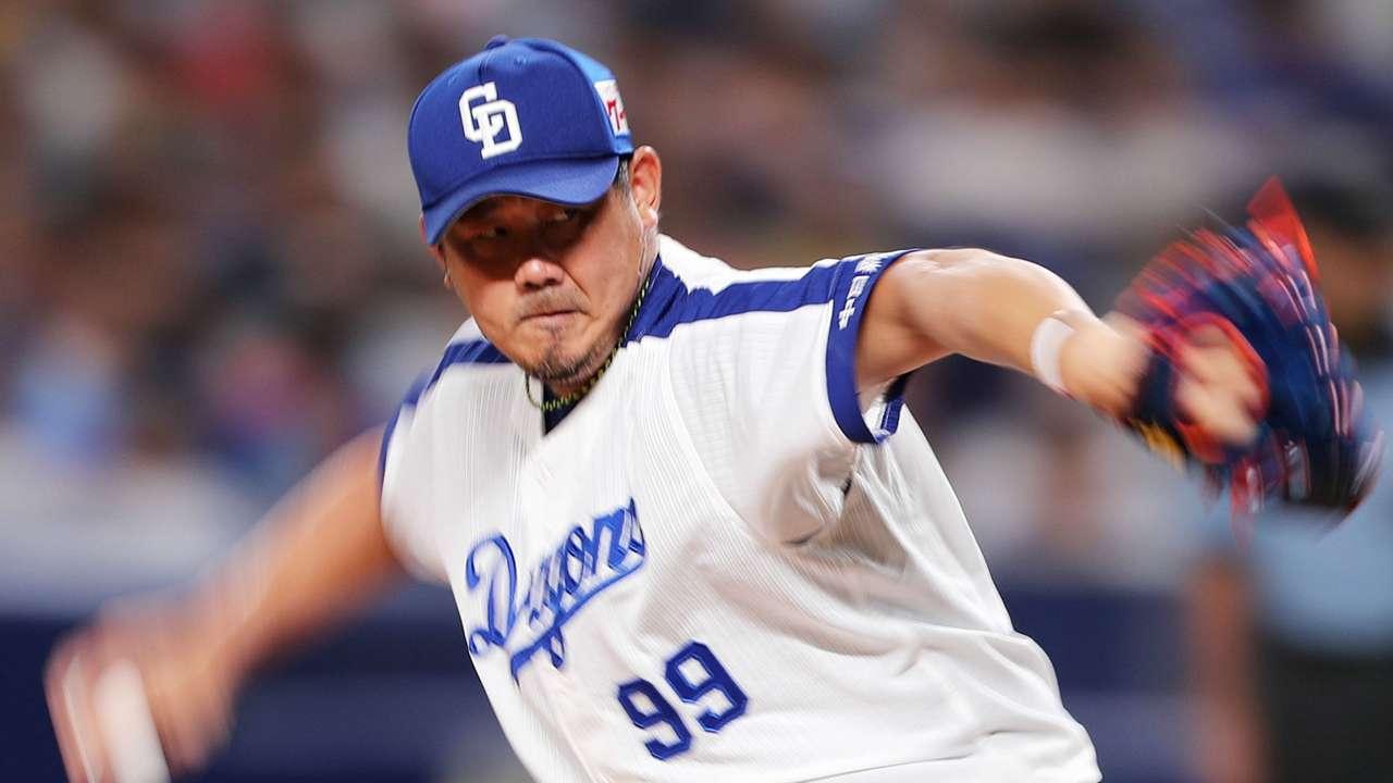 NPB, プロ野球, 開幕, 中日ドラゴンズ, 2018年の松坂大輔