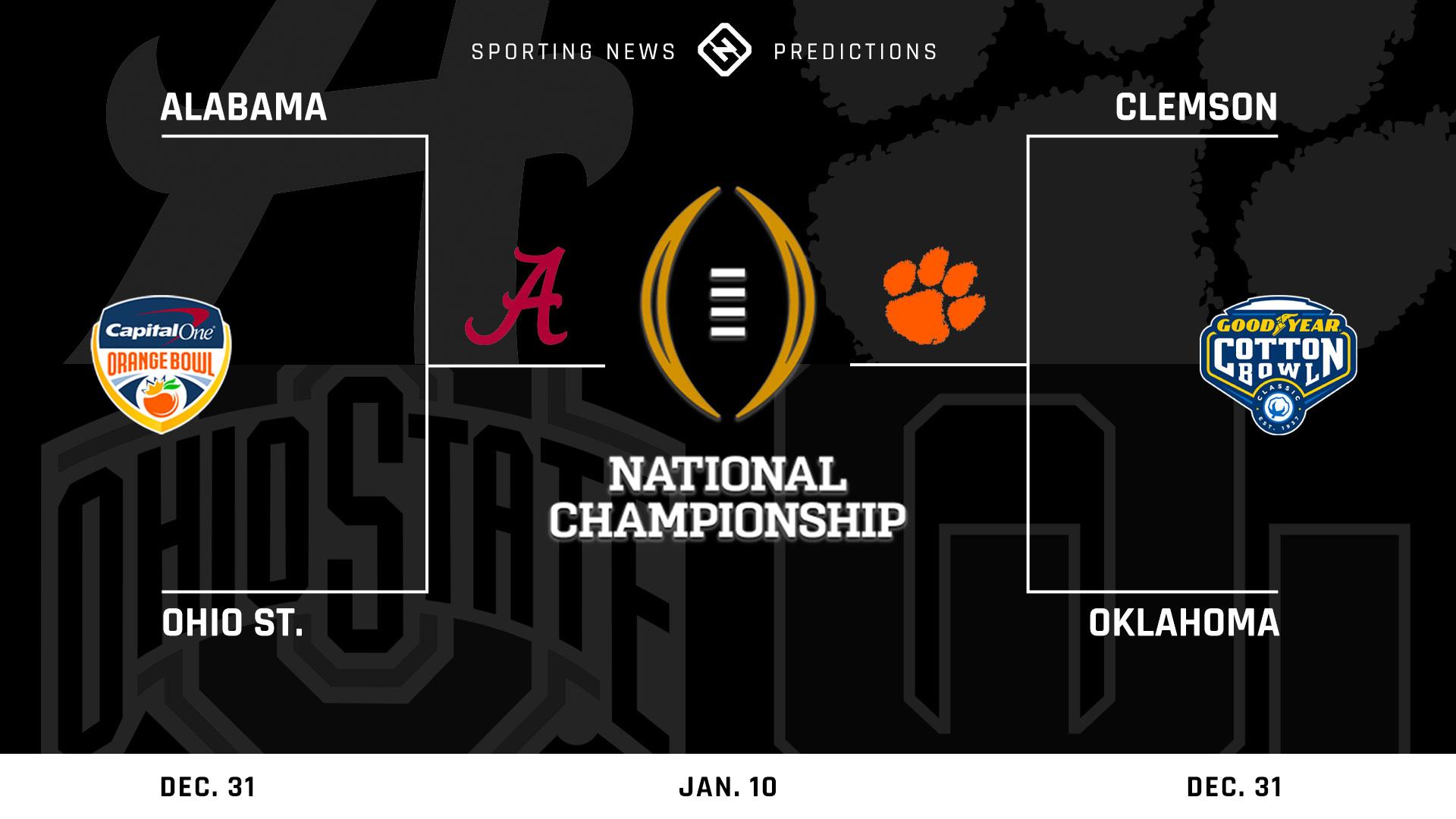 University football predictions for 2021 bowling, finals, national championship