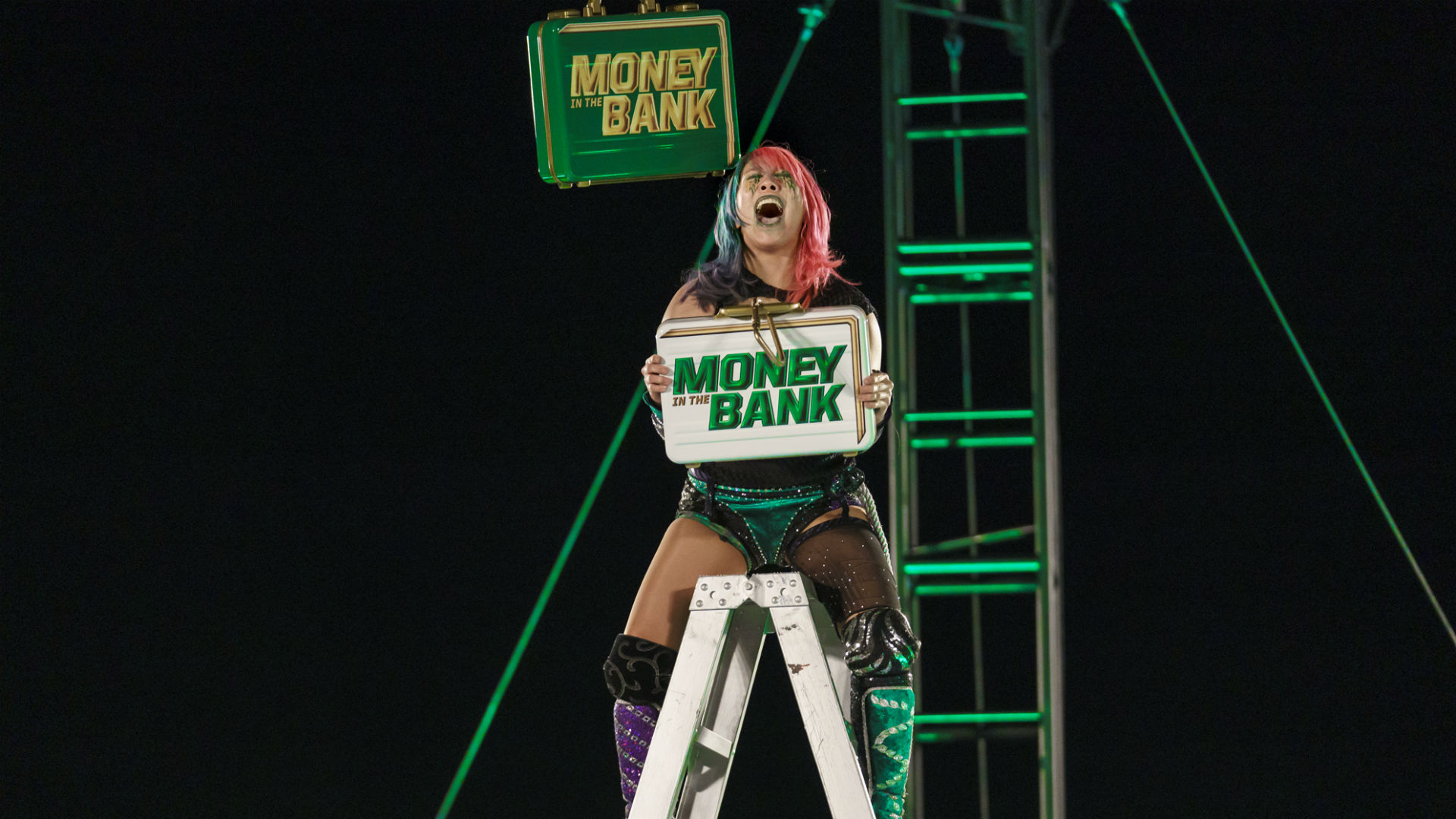 WWE Money In The Bank 2020 results: Otis and Asuka win briefcases in utterly ridiculous ladder match